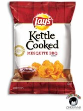 LAYS KETTLE COOKED MESQUITE BBQ 77.9G