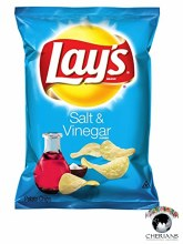 LAYS SALT & VINEGAR 77.9G