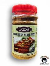 LAZZAT TIKKA SEEKH KABAB SPICES 200G