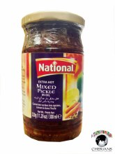 NATIONAL EXTRA HOT MIXED PICKLE IN OIL 320G