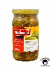 NATIONAL HYDERABADI MANGO PICKLE IN OIL 320G