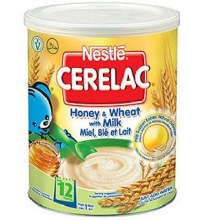 NESTLE CERELAC HONEY AND WHEAT 400GM