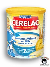 NESTLE CERELAC BANANA & WHEAT WITH MILK 400G