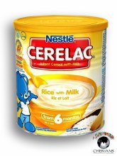NESTLE CERELAC RICE WITH MILK 400G