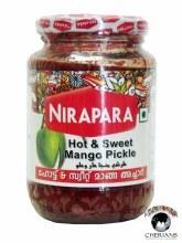NIRAPARA HOT & SWEET MANGO PICKLE 400G