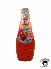 NIRAV BASIL SEED DRINK WITH POMEGRANATE FLAVOURED 290ML