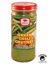 NIRAV GREEN CHILLI CHUTNEY 220ML