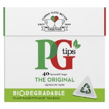 PG TIPS TEA 40TB/116G