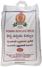 LAXMI PONNI BOILED RICE 20LB