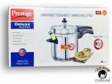 PRESTIGE DELUXE STAINLESS STEEL PRESSURE COOKER 3.5L