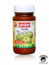 PRIYA AMLA PICKLE WITHOUT GARLIC 300G
