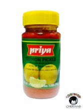 PRIYA CITRON PICKLE (WITHOUT GARLIC) 300G