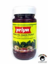 PRIYA GONGURA ONION PICKLE WITH GARLIC 300G
