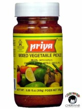 PRIYA MIXED VEGETABLE PICKLE 300G