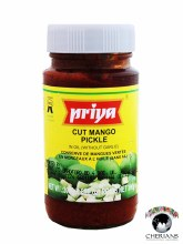 PRIYA CUT MANGO PICKLE (WITHOUT GARLIC) 300G