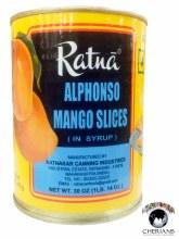 RATNA ALHPONSO-MANGO SLICES 1LB