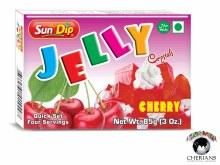 SUNDIP JELLY CRYSTALS-CHERRY 85G