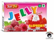 SUNDIP JELLY RASPBERRY 85G