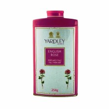 YARDLEY ENGLISH ROSE- PERFUMED TALC POWDER 250G