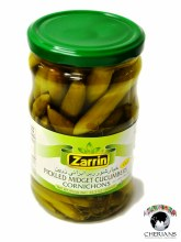 ZARRIN PICKLED CUCUMBERS 660ML