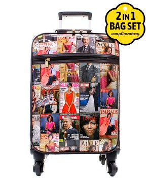 Fashion Magazine Luggage