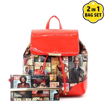 Fashion Magazine Backpack