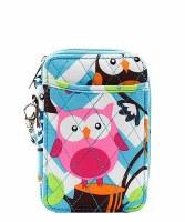 Chevron Owl Wallet