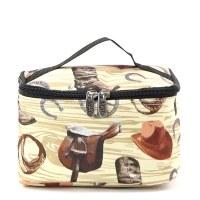 Western Cowboy Cosmetic Case