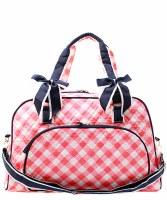 Plaid Duffel