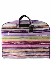 Striped Garment Bag