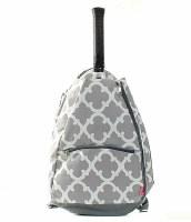 Geometric Tennis Racket Bag