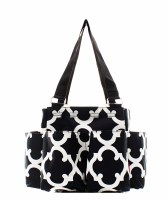 Geometric Caddy Bag