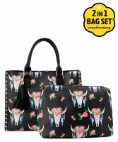 Steer Head Handbag
