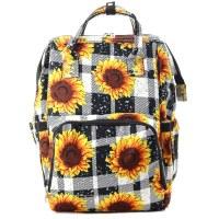 Sunflower Diaper Backpack