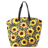 Sunflower Leopard Tote
