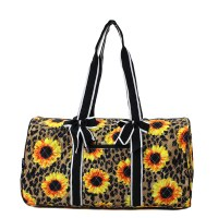Leopard Sunflower Duffel
