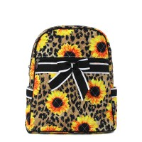 Leopard Serape Backpack