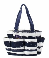 Stripe Caddy Bag