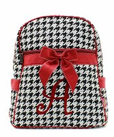 "Houndstooth ""A"" Backpack"