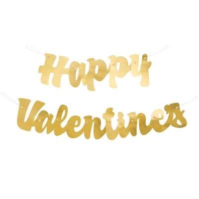Happy Valentines Banner