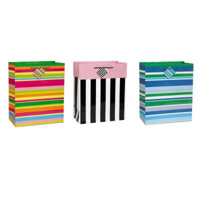 Gift Bag Striped