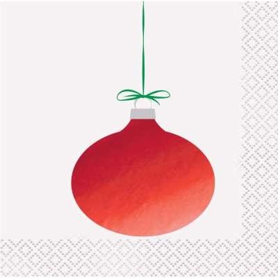 Ornament Beverage Napkins