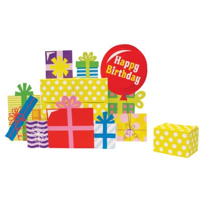 Gift Boxes Centerpiece