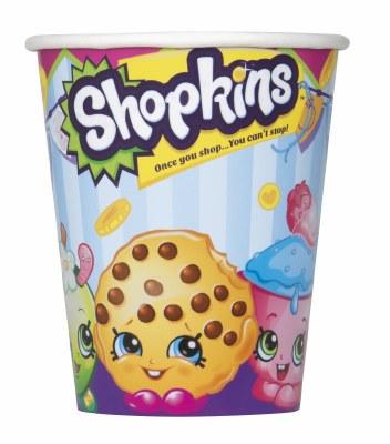 Shopkins Paper Cups