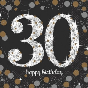 30th Sparkling Tablecover