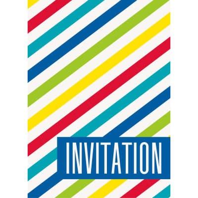 Stripe Primary Invitations