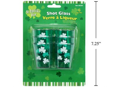 St Patty's Shot Glasses