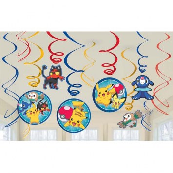 Pokemon Swirl Decor