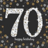 70th Lunch Napkins
