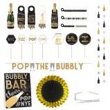 Bubbly Bar Decor Kit